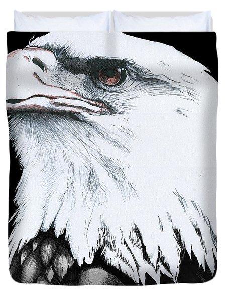American Bald Eagle Duvet Cover
