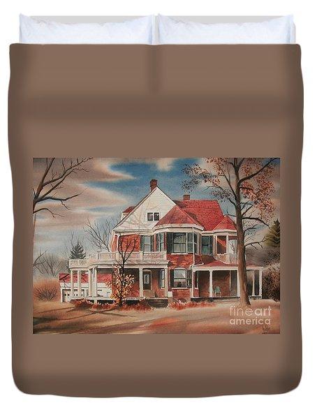 American Home IIi Duvet Cover by Kip DeVore