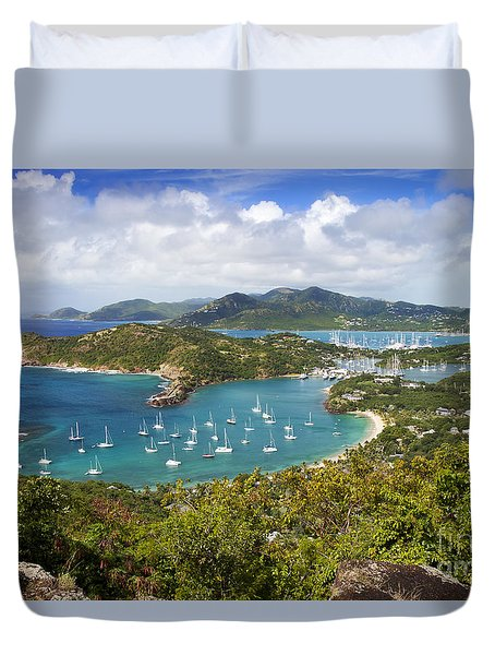 Duvet Cover featuring the photograph Antigua by Brian Jannsen