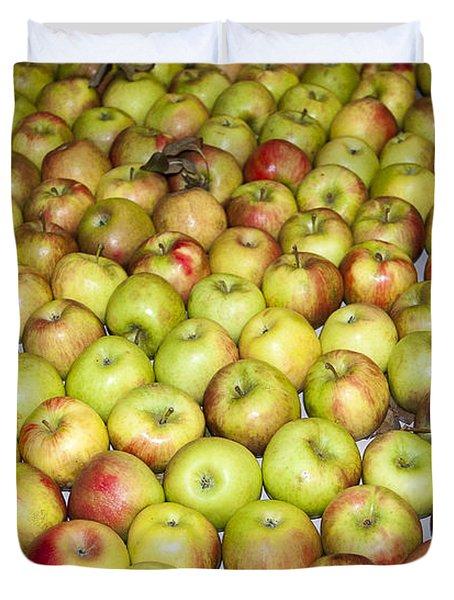 Apples Duvet Cover by Steven Ralser
