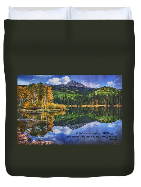Approaching Storm  Duvet Cover by Priscilla Burgers