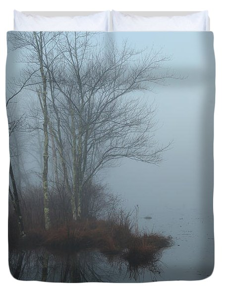 As The Fog Lifts Duvet Cover by Karol Livote