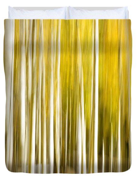 Aspen Glow Duvet Cover by Bryan Keil