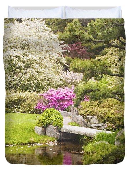 Asticou Azelea Garden - Northeast Harbor - Mount Desert Island - Maine Duvet Cover