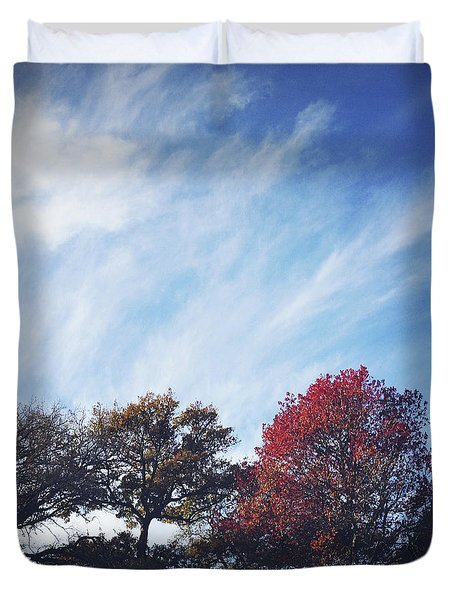 Autumn Duvet Cover by Les Cunliffe