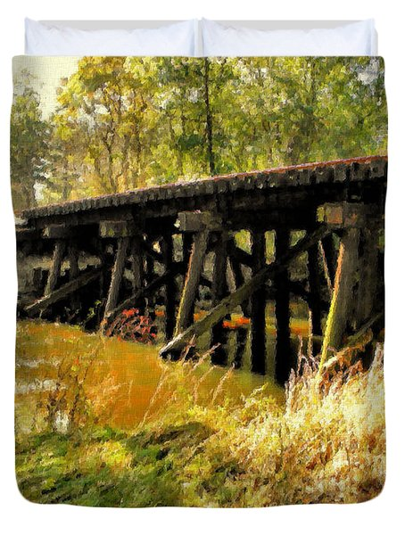 Autumn Travels Duvet Cover