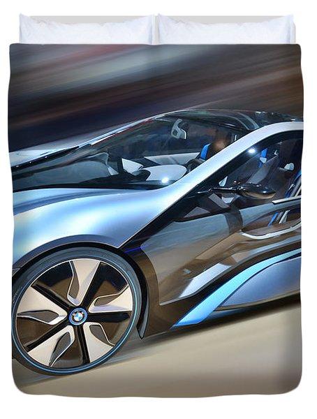 B M W  Edrive I8  Concept  2014 Duvet Cover