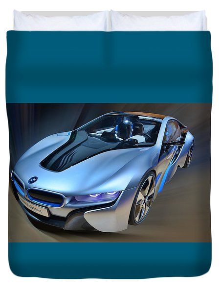 B M W  I8  Concept  2014 Duvet Cover