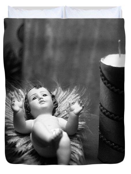 Baby Jesus Duvet Cover by Gaspar Avila
