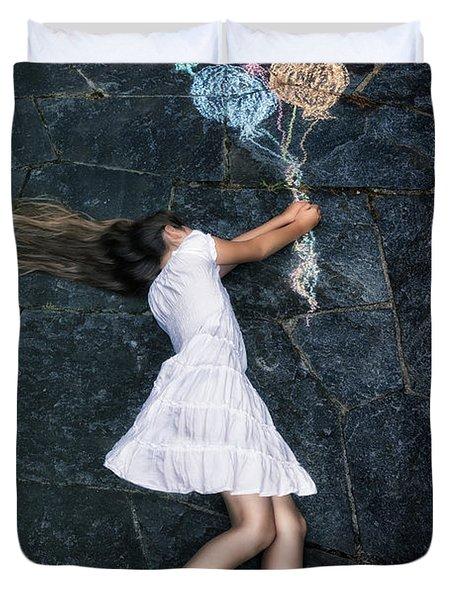 Balloons Duvet Cover by Joana Kruse
