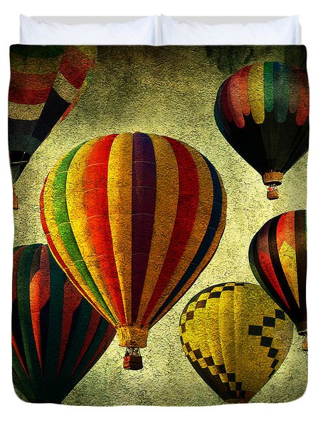 Balloons Duvet Cover by Mark Ashkenazi