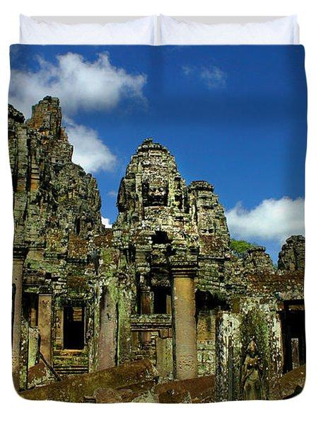 Bayon Temple Duvet Cover