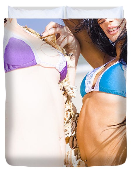 Beach Party Duvet Cover