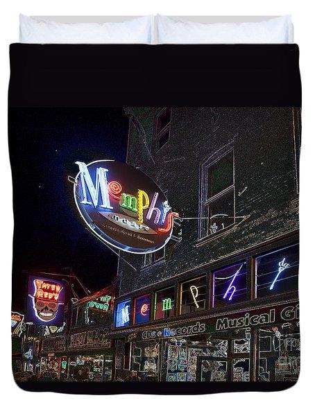 Beale Street Duvet Cover