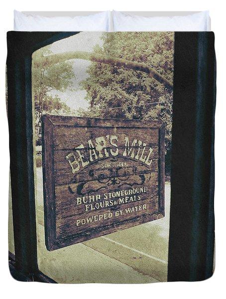 Bear's Mill Duvet Cover