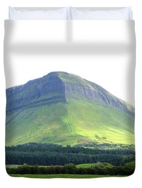 Ben Bulben Duvet Cover by Charlie Brock