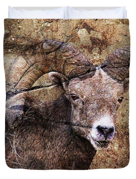Bighorn Rock Duvet Cover