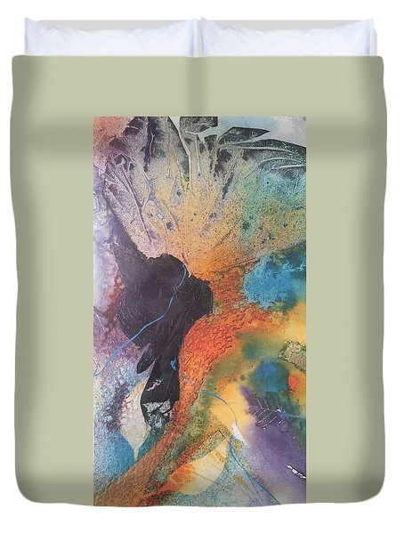 Bloom Duvet Cover by Becky Chappell