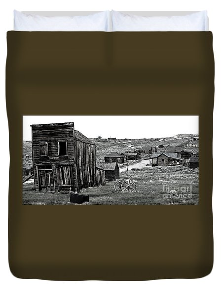 Duvet Cover featuring the photograph Bodie California by Nick  Boren