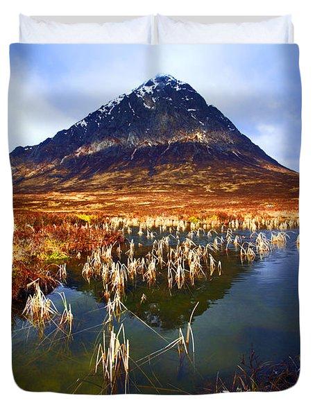 Buachaille Etive Mor Scotland Duvet Cover