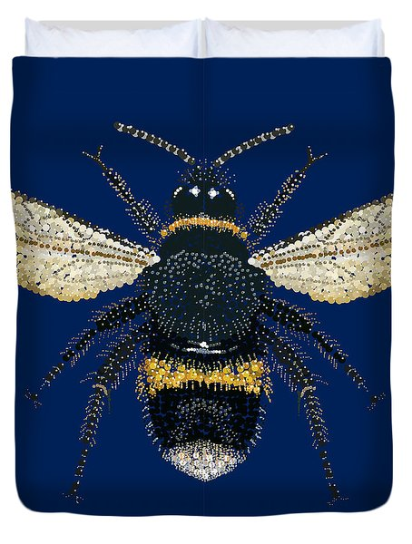 Bumblebee Bedazzled Duvet Cover