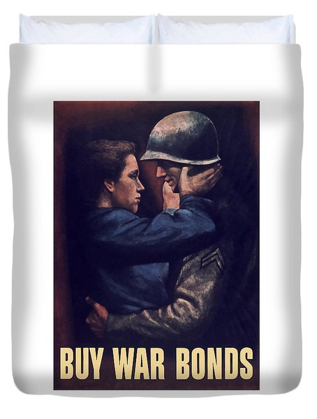 Buy War Bonds Duvet Cover by War Is Hell Store