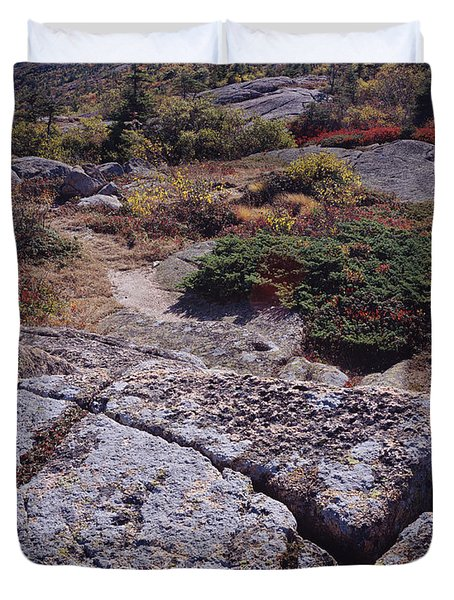 Cadillac Mountain Duvet Cover