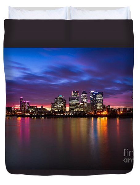 Canary Wharf 2 Duvet Cover