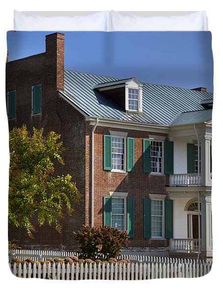 Duvet Cover featuring the photograph Carnton Plantation by Brian Jannsen