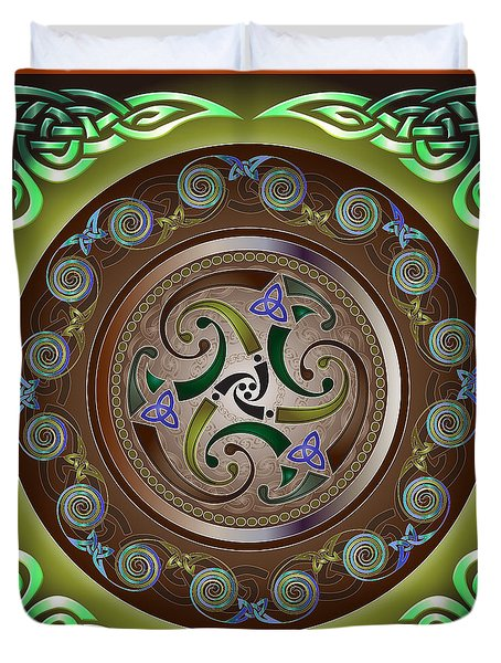 Celtic Pattern Duvet Cover