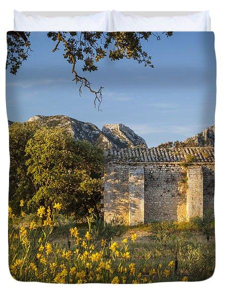 Chapelle De Romanin Duvet Cover