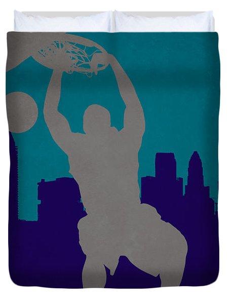 Charlotte Hornets Duvet Cover
