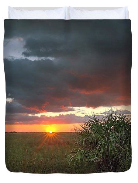 Chekili Sunset Duvet Cover