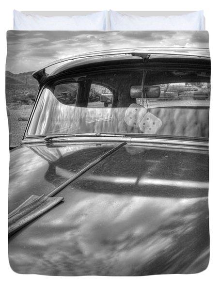 Chevy Classic Duvet Cover by Tam Ryan