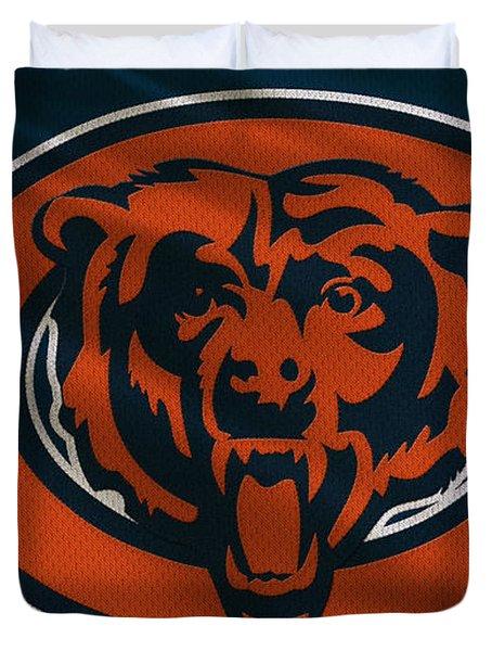 Chicago Bears Uniform Duvet Cover