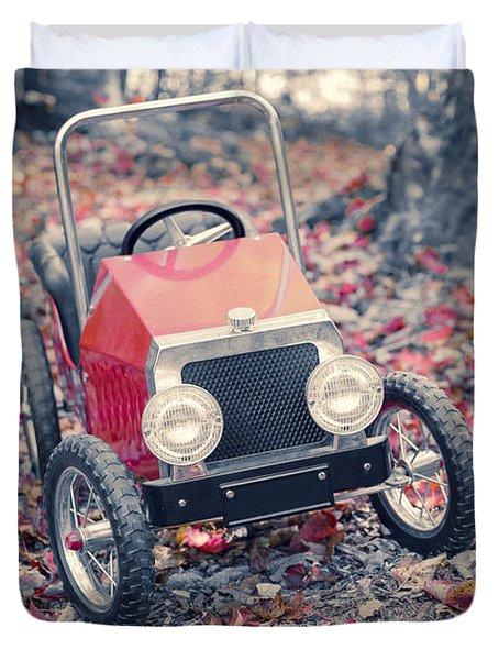 Childhood Memories Duvet Cover