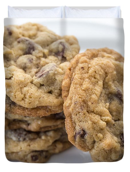 Chocolate Chip Cookies Duvet Cover by Edward Fielding