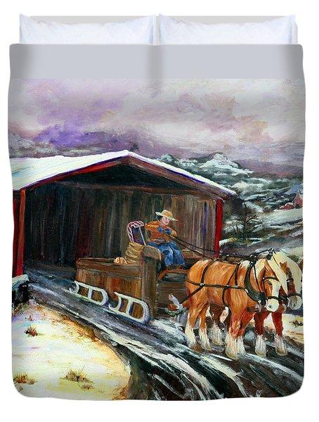 Christmas Eve Duvet Cover