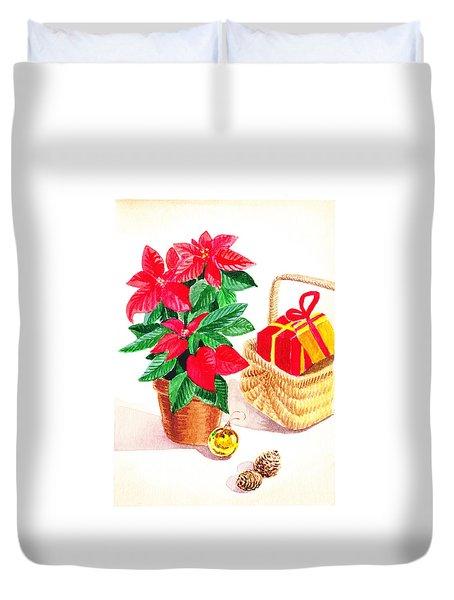 Christmas  Duvet Cover by Irina Sztukowski