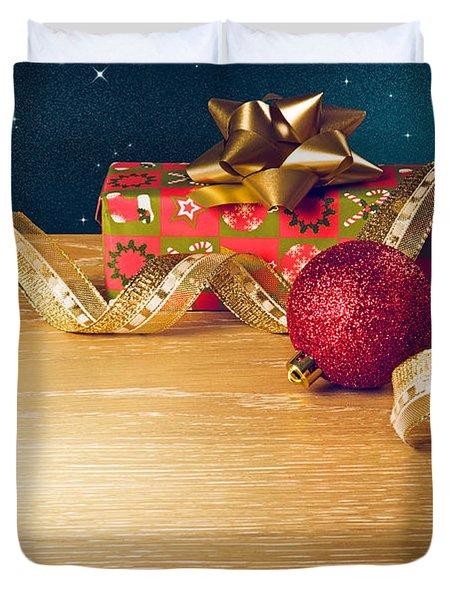 Christmas Still-life Duvet Cover