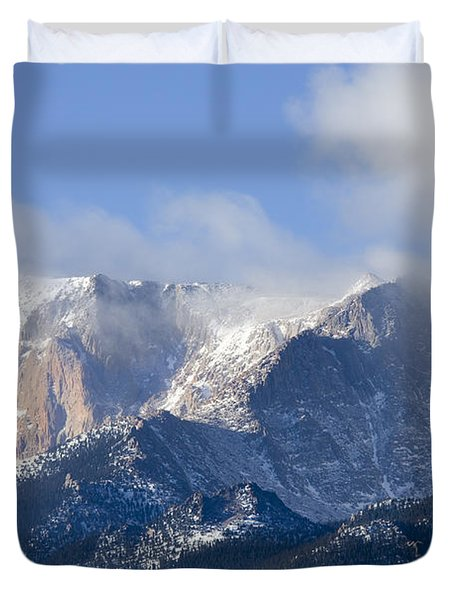 Cloudy Peak Duvet Cover