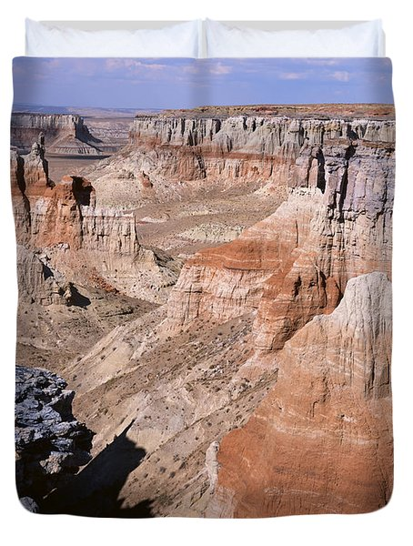 Coal Mine Canyon 1 Duvet Cover