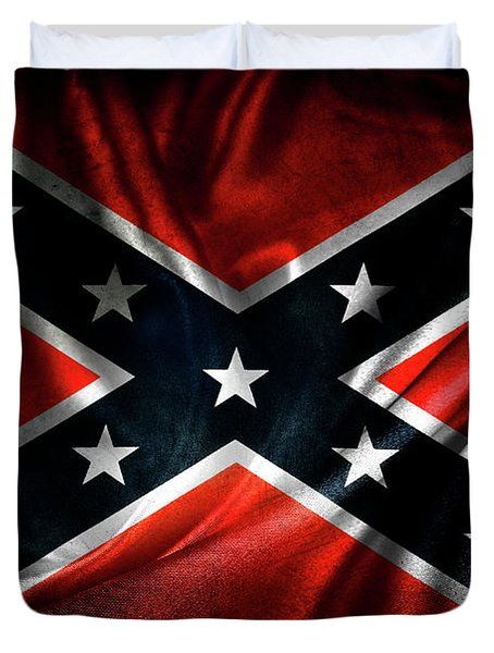 Confederate Flag 1 Duvet Cover