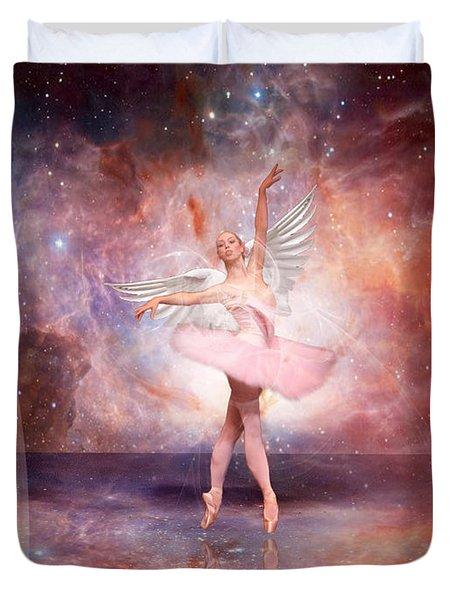 Dancing In The Spirit Duvet Cover