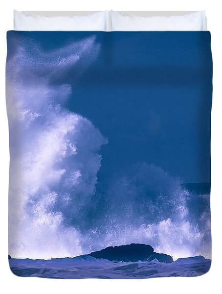 Decision......  Morro Bay Duvet Cover