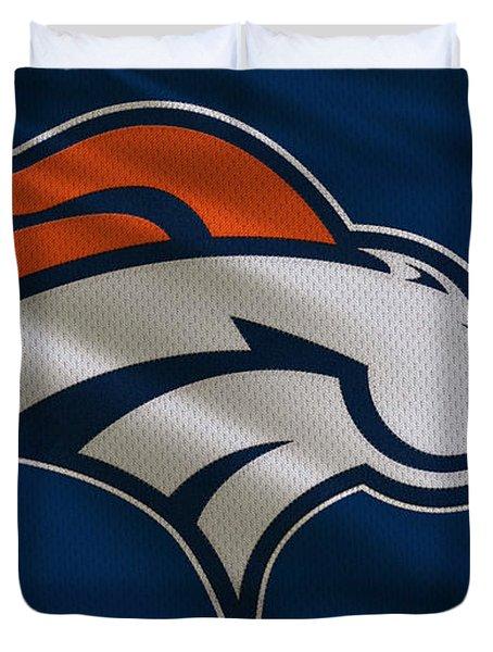Denver Broncos Uniform Duvet Cover