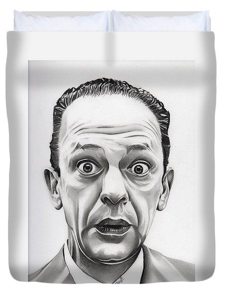 Deputy Barney Fife Duvet Cover by Fred Larucci
