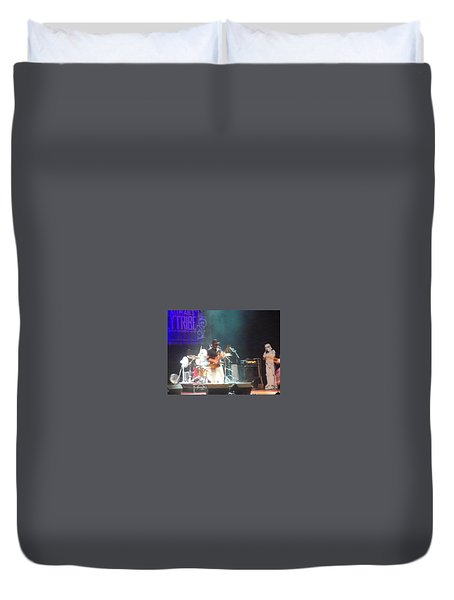 Devon Allman And The Honeytribe Duvet Cover by Kelly Awad
