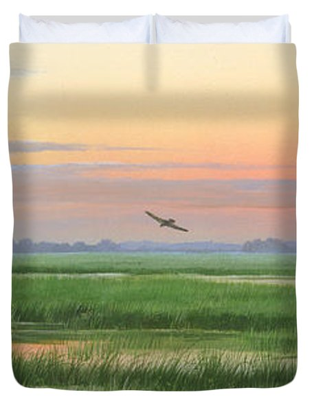 Divine Whisper Duvet Cover