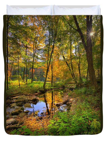 Early Autumn Duvet Cover by Bill Wakeley